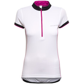 axant Elite Short Sleeve Jersey Women white/pink